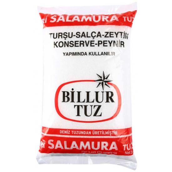 Billur Salamura Tuz 3000 GR