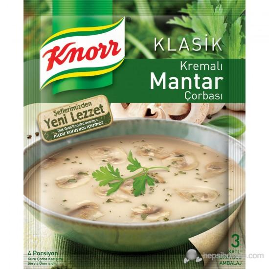 Knorr Kremalı Mantar Çorbası