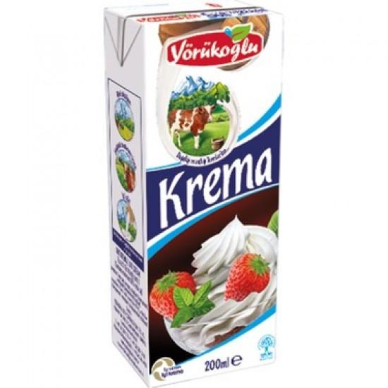 Yörükoğlu Krema 200 ML